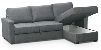 Schlafsofa in anthrazit